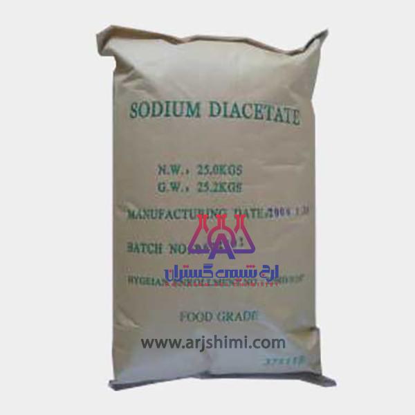 استات سدیم خشک